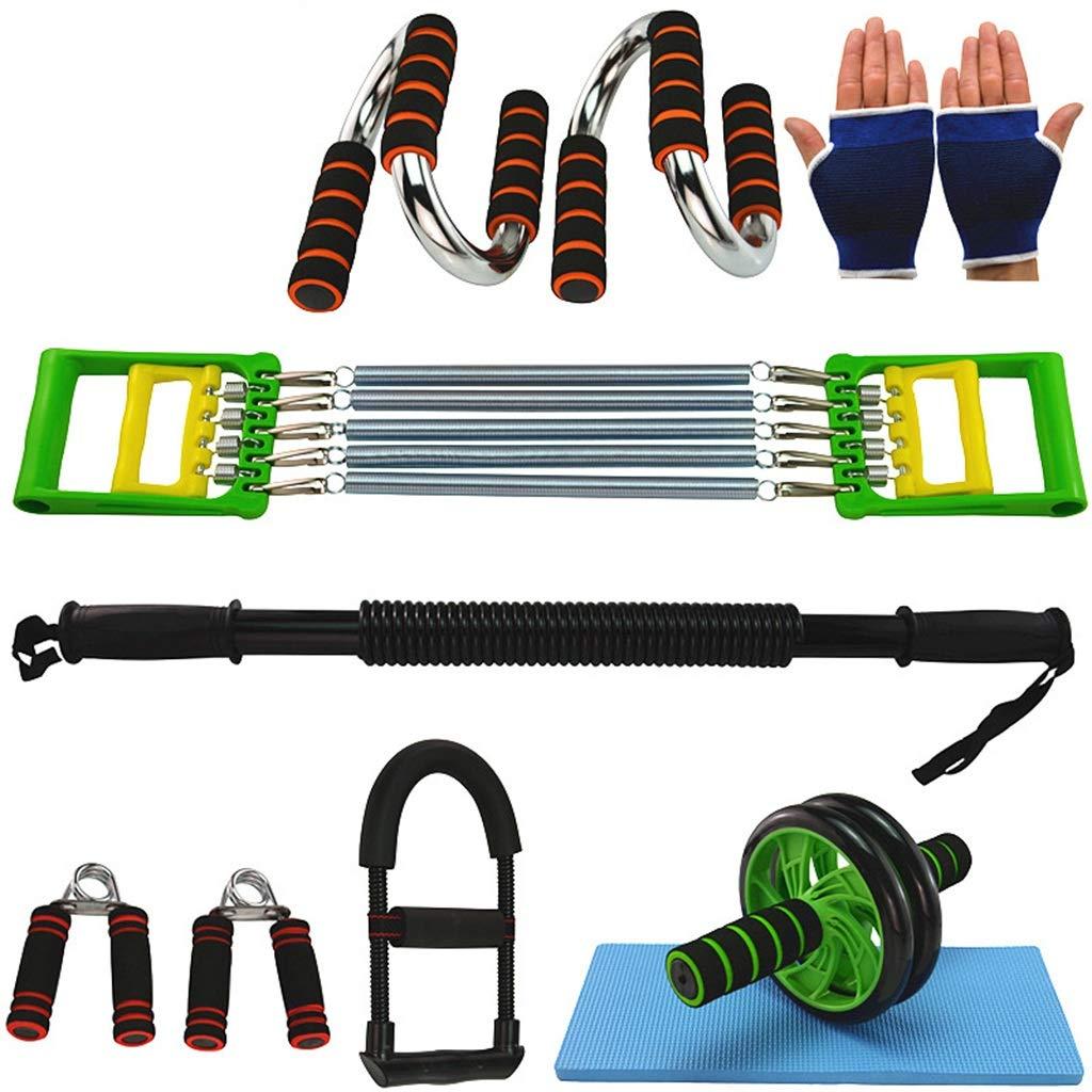 Zhiniu Bauchtrainer, Haushalts Licht Tragbare Gürtel Grip Fitness Ausrüstung Anzug Arm Krafttraining Multifunktions Puller