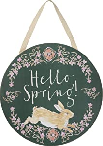 Primitives by Kathy Hello Spring Wall Decor
