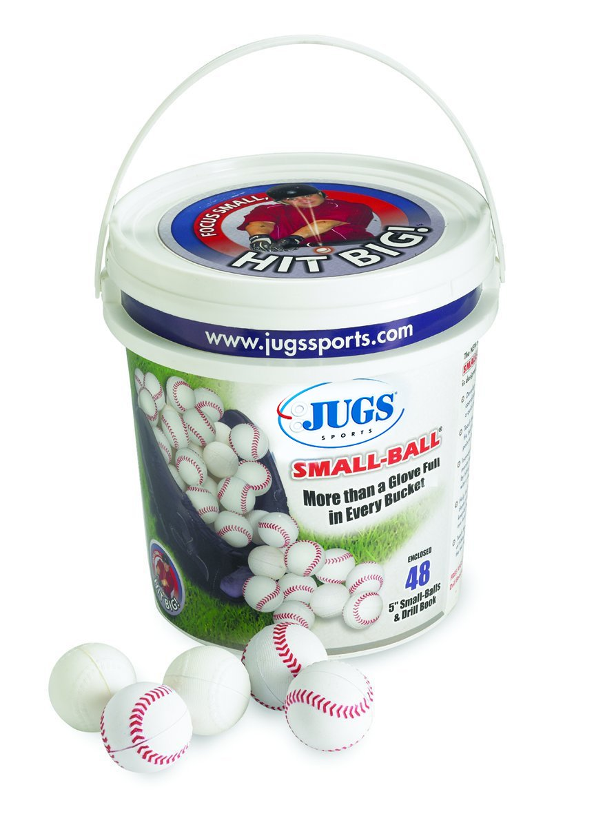 Jugs Sports Bucket of Small-Balls (4 Dozen) B5135