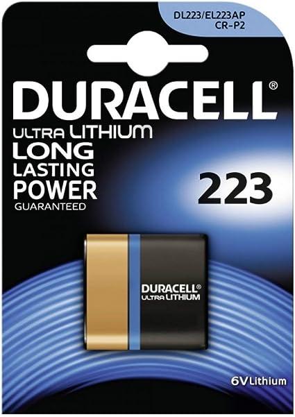 Foto Batterie Duracell Ultra M3 Typ 223 1er Blister Lithium 6v