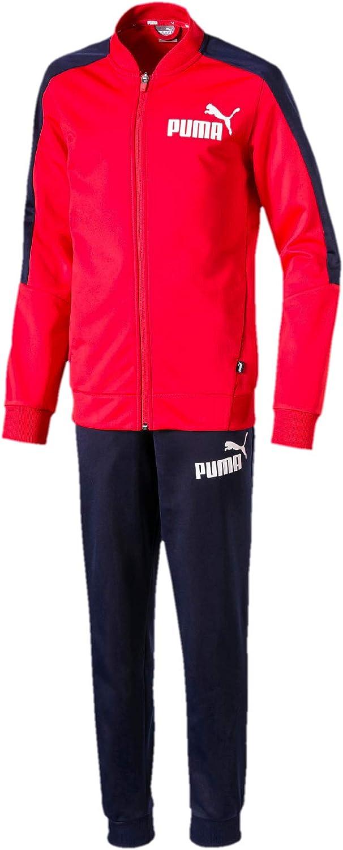 PUMA Baseball Collar Track Suit B Chándal, Niños: Amazon.es: Ropa ...