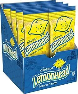 Lemonhead Candy, 3 Ounce, Pack of 8