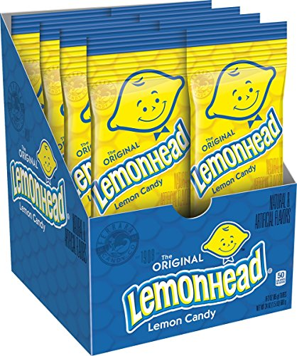 Lemonhead Hard Candy, Lemon, 3 Ounce (Pack of 8)