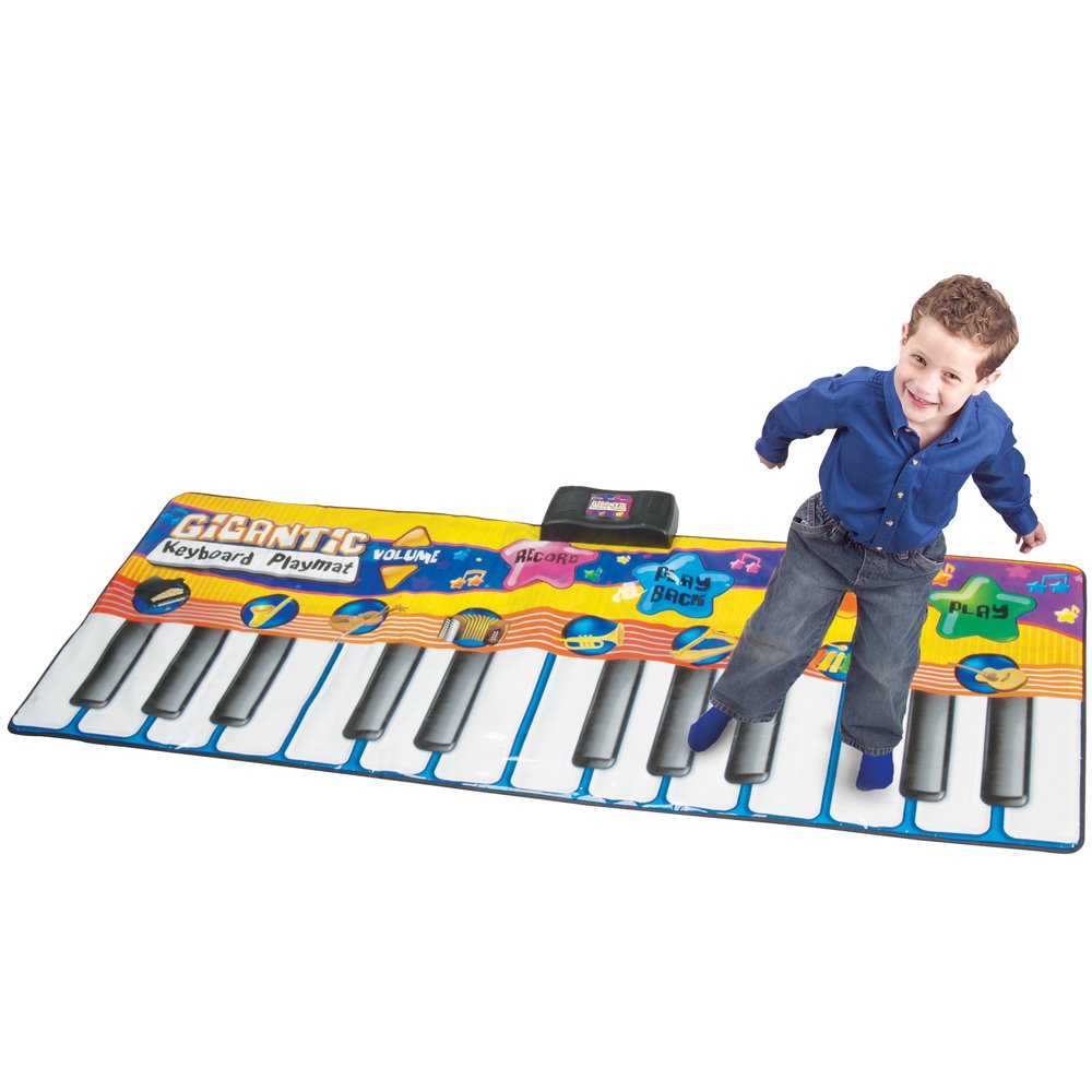 CP Toys Big Keyboard Fun Playmat with 8 Instruments and 4 Play Modes by CP Toy