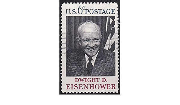 Amazon 1969 US Postage Stamp 6c Dwight D Eisenhower Everything Else