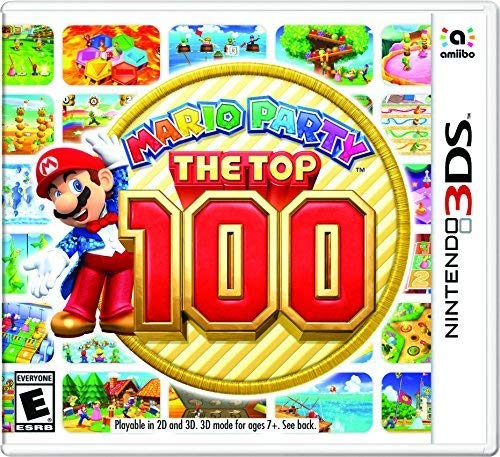 Amazon com: Mario Party: The Top 100 - Nintendo 3DS