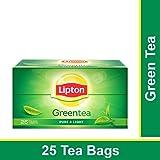 Lipton Pure & Light Green Tea Bags, 25 Pieces