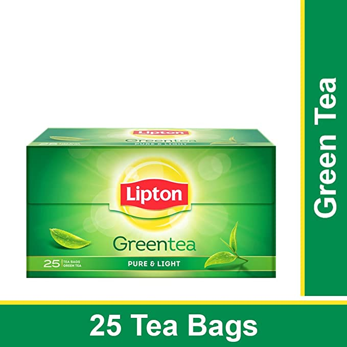Lipton Pure Light Green Tea Bags 25 Pieces Amazon In Grocery