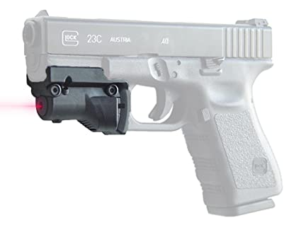 DLP Tactical Precision Laser Sight for Glock Gen 3 & 4 Full Size & Compact  Pistols 17 19 20 21 22 23 31 32 34 35 37 38
