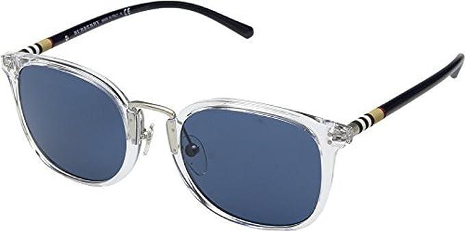 Burberry Hombre 0BE4266 3024D2 53 Gafas de sol, Blanco ...