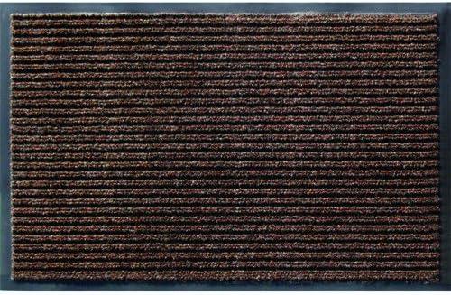 Utility Mats Enviroback Apache Rib Door Mat, 3-Feet by 5-Feet, Cocoa