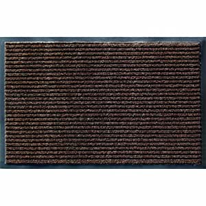 Apache Mills 60-043-1410 Utility Mats Enviroback Apache Rib Doormat, 3-Feet by 5-Feet, Cocoa