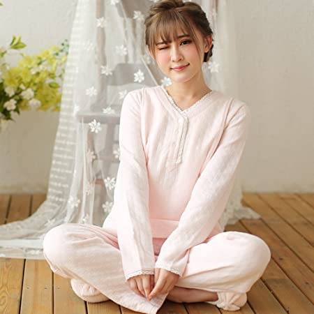57b778ddabe79 mjy Moon clothes, autumn and winter postpartum cotton spring and autumn  clothes, pregnant women pajamas, thick maternal feeding clothes:  Amazon.co.uk: ...