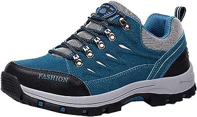 Easondea Zapatillas de Trekking para Hombres Mujeres Zapatillas de Senderismo Unisex Botas de Montaña Antideslizantes AL Aire Libre Zapatillas de ...