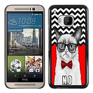 Dragon Case - FOR HTC One M9 - I need the air - Caja protectora de pl??stico duro de la cubierta Dise?¡Ào Slim Fit