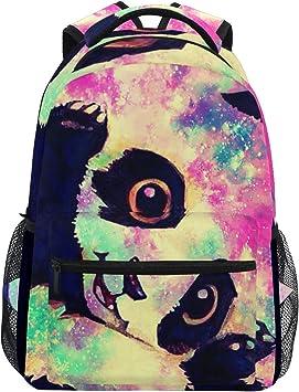 Cute Panda Laptop Backpacks Traveling Backpack Travel Back Packs for Travel Hiking Camping School Laptop Backpack for Women Men