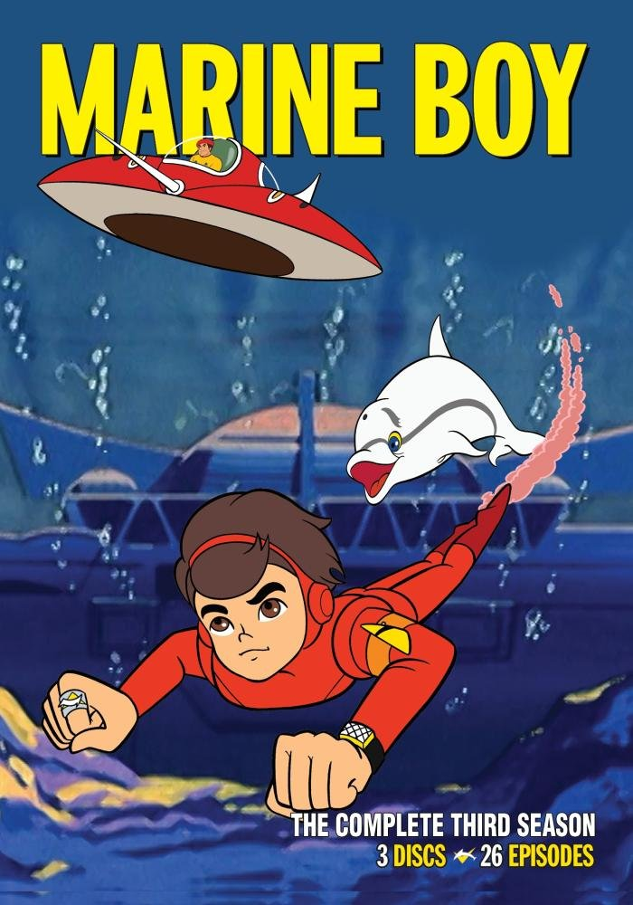 Marine Boy : The Complete Third Season by Warner Archive Collection