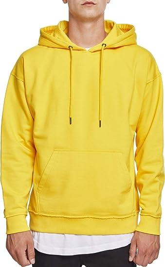 f551891a51 Urban Classic Men s Oversized Sweat Hoody Khaki  Amazon.co.uk  Clothing