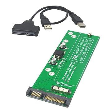 Amazon.com: GODSHARK - Tarjeta adaptador SSD a SATA o USB ...