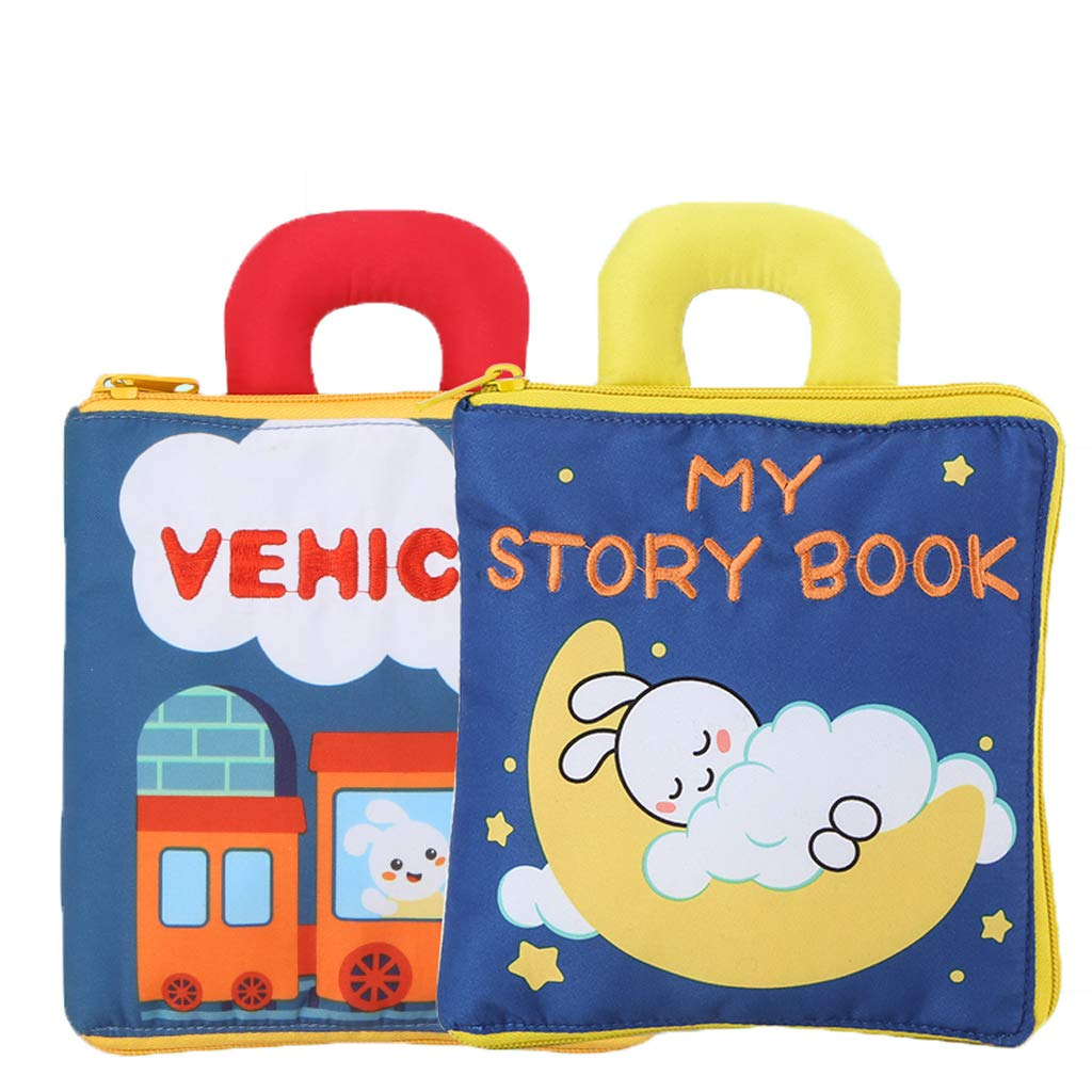 Baby Toys, Early Education Stereo Cloth Book, Baby Tearing is not Bad, Puzzle 3D Baby Baby 6-12 Months 1 Year Old Toy