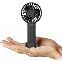 CACOE Mini-handventilator, draagbare ventilator met 3350 mAh oplaadbare batterij, compatibel voor kantoor, reizen, thuis…