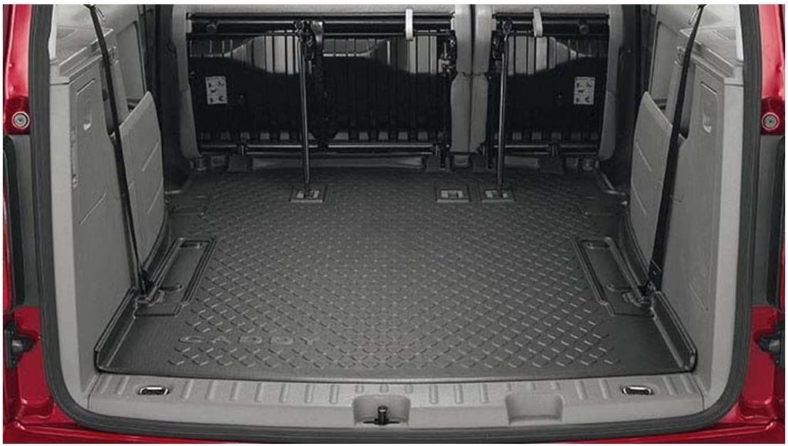 dorigine VW Bagagerie Coque Tapis de Coffre Caddy Maxi Kombi 5//7/ Places Coffre Rigide 2/ K3061161