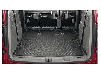 Arrimage et rangement Volkswagen Bagagerie Coque Original VW Caddy 5 Étagères 7Places Coffre Rigide Life/Voiture