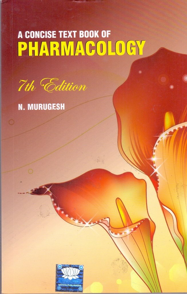 pharmacology book by murugesh