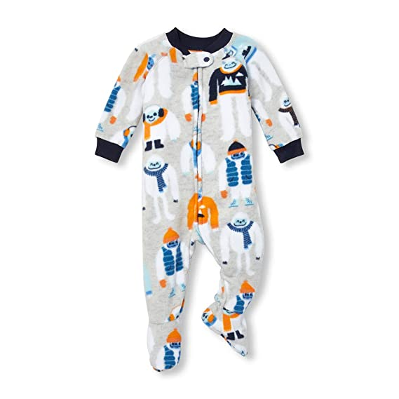 The Childrens Place Baby Boys Printed Blanket Sleeper