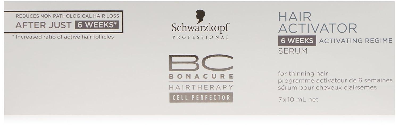 SCHWARZKOPF BC HAIR ACTIVATOR activating regime serum 7 x 10 ml: Amazon.es: Belleza