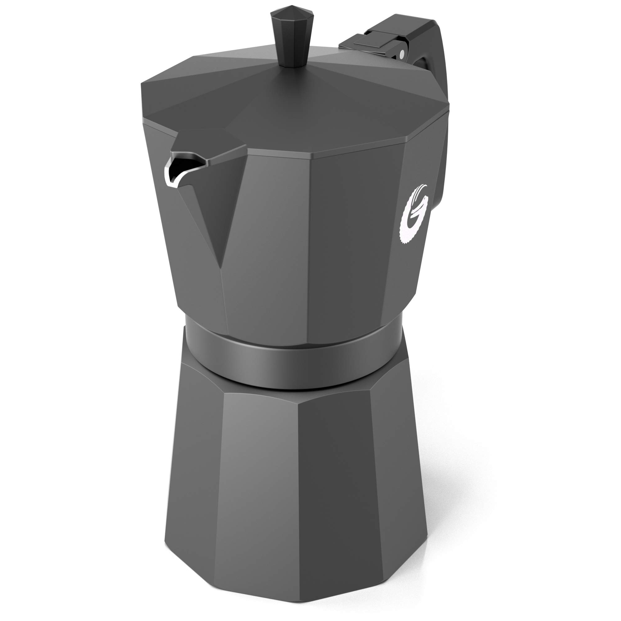 Coffee Gator Espresso Moka Pot - Stovetop Brewer Plus 2 Thermal Cups - 12 Ounce by Coffee Gator (Image #7)