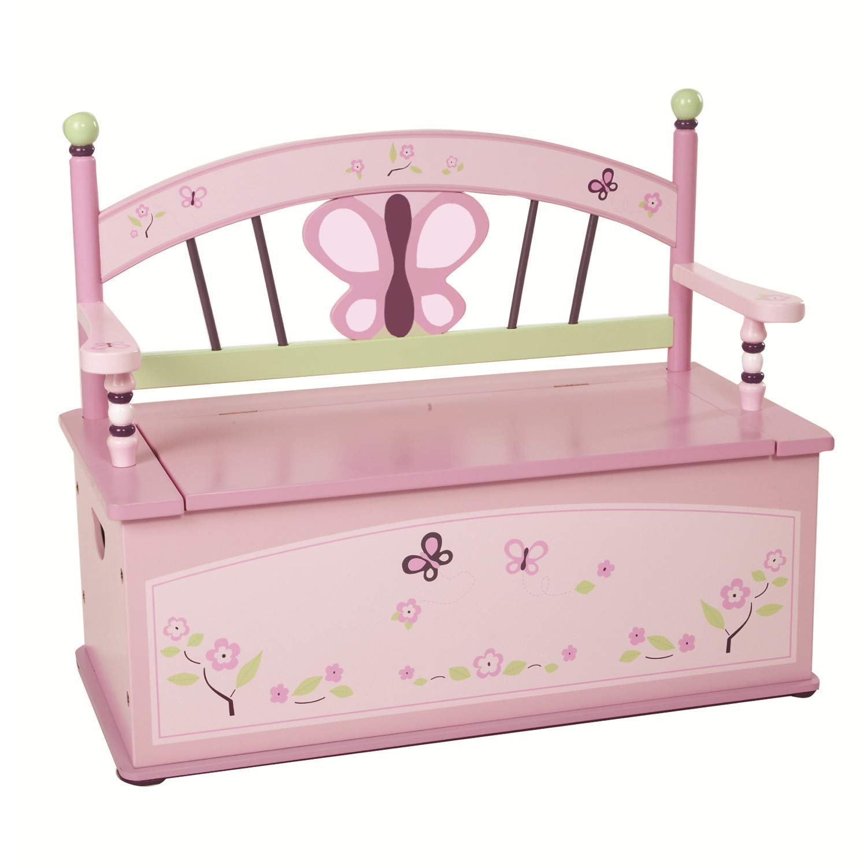 Wildkin Bench Seat with Storage, Sugar Plum by Wildkin