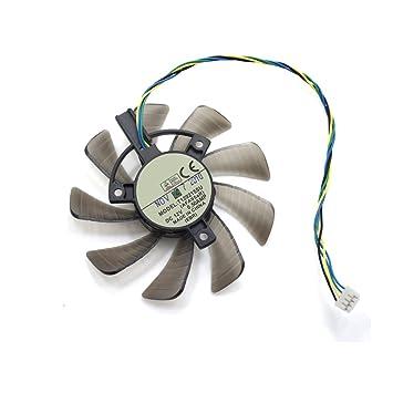 Yeshi 4 pin tarjeta gráfica ventiladores de refrigeración ...