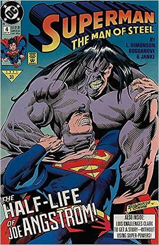 Superman the Man of Steel 1991 series # 2 very fine comic book