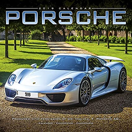 Calendario 2019 Porsche - Coche Collection - Coche de ...
