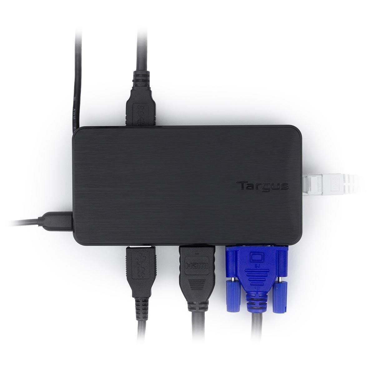 Targus USB Multi-Display Adapter Black, ACA928EUZ (Black) by Targus