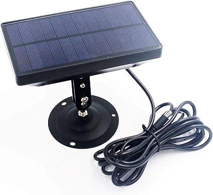 Trail Camera Battery Solar Panel Charger External Power 9V 1800mAH