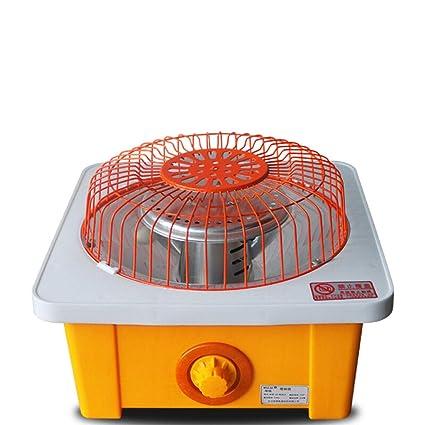Calentador de tubo de fibra de carbono Estufa al horno Calentador de jaula de pájaros Mini