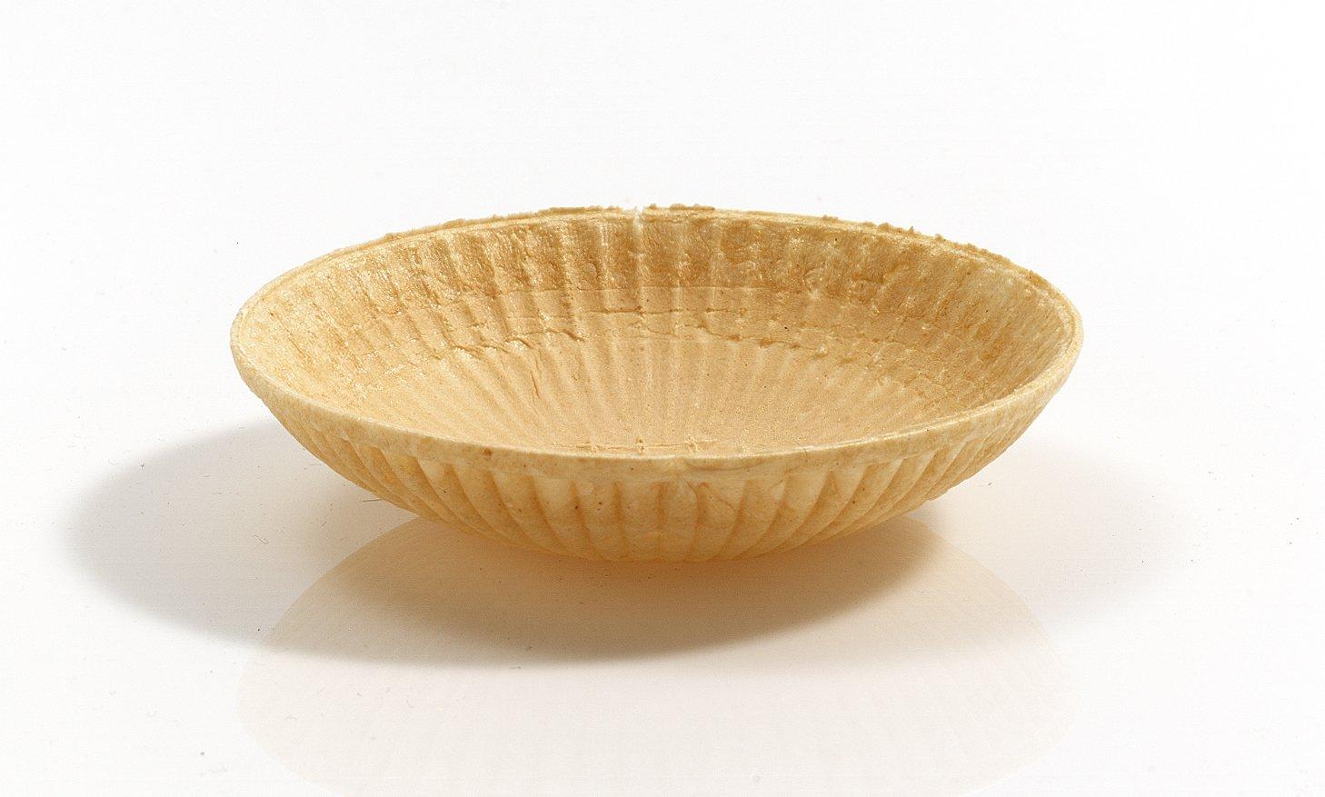 Cono de Helado | 20xØ86mm | 80 pieza | Comestible Moldes para Muffin y Cupcake | Cuenchos para mermelada, salsas y frutas | Barquillos para helado ...