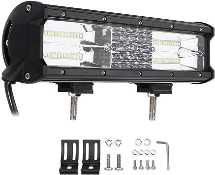 12inch 72W LED Work Light Bar Combo Beam SPOT FLOOD 4WD ATV SUV TRUCK BOAT