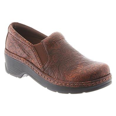 Klogs Footwear Women's Naples Brown JW Floral 7 ...