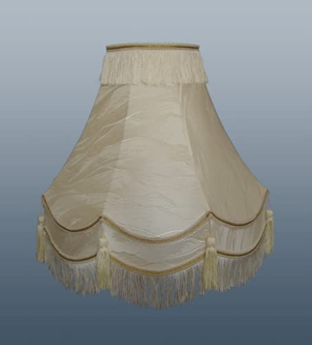 22 traditional fully lined creamgold lamp shade amazon large 22 premium modern traditional fully lined creamgold lampshade home bedroom sale aloadofball Choice Image