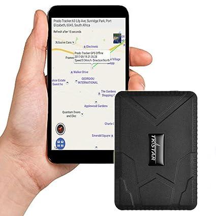 Fuerte magnética Vehículo GPS Tracker libre instalación Front GPS Locator Mirilla/Oculta/Secreto 10000