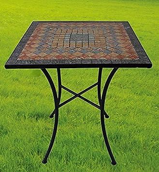 Gartentisch Sardena Mosaik Mobel Im Mediterrane Stil Tisch Eckig