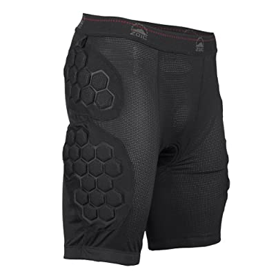 ZOIC Men's Impact Liner Shorts, Black, 3X-Large: Clothing