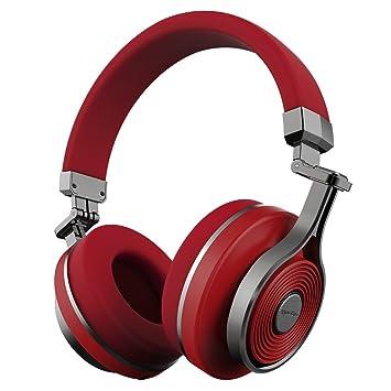 58f5accb057 Bluedio T3 (Turbine 3rd) Auriculares Bluetooth de Diadema con microfono  Efecto 3D Estereo (Rojo): Amazon.es: Electrónica