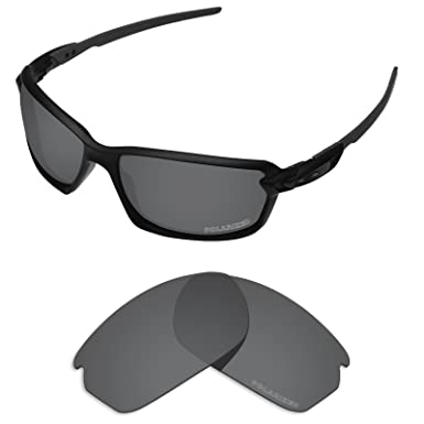 7b2841c5923 Tintart Performance Lenses Compatible with Oakley Carbon Shift Polarized  Etched-Carbon Black
