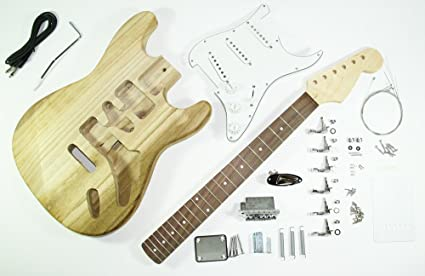 Cherrystone 4260180884562 - Montaje completo para guitarra eléctrica ST
