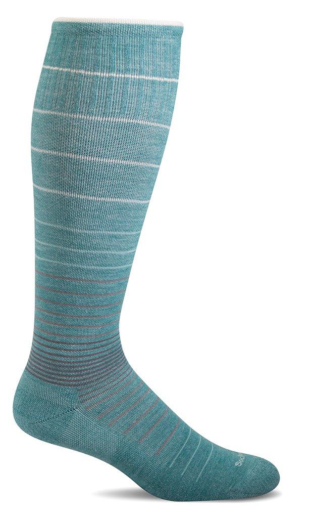 Sockwell Women's Circulator Graduated Compression Socks, Mineral, Small/Medium