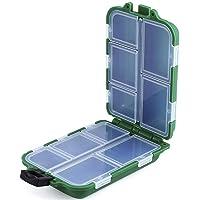 NEWSHOT Caja de Aparejos de Pesca, 10 Compartimentos